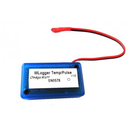 Capteur sans fil Multivoies (Temp/Pulse)