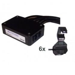 Multivoies Module 6 capteurs SCT10 (avec réactif)
